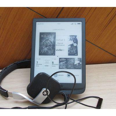 Vivlio InkPad 3: un écran XXL doué de parole