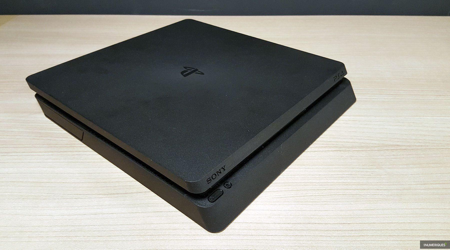 sony playstation 4 slim test complet console de jeu les num riques. Black Bedroom Furniture Sets. Home Design Ideas