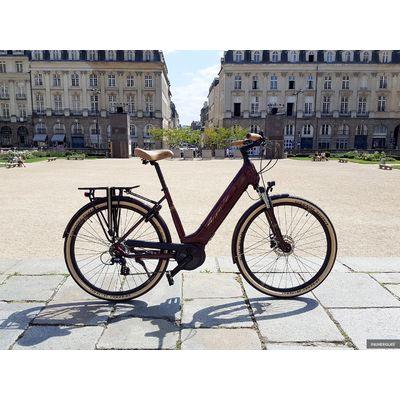 Granville E-Excellence 40 : un vélo électrique confortable et bien équipé pour la ville