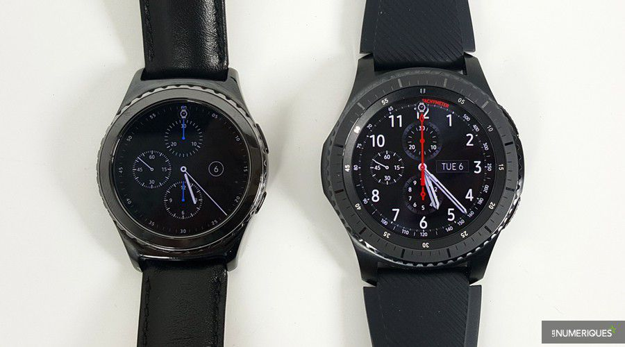 samsung gear s3 frontier test complet montre connect e les num riques. Black Bedroom Furniture Sets. Home Design Ideas