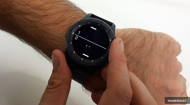 Test Samsung Gear S3 Frontier : à la lisière de l'excellente