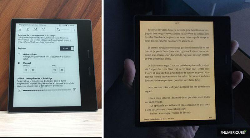 foto de Test Amazon Kindle Oasis 3 (2019) : notre avis, nos mesures au ...
