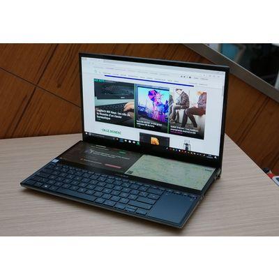 Asus ZenBook Pro Duo : un ordinateur portable deux écrans à renfort d'Oled