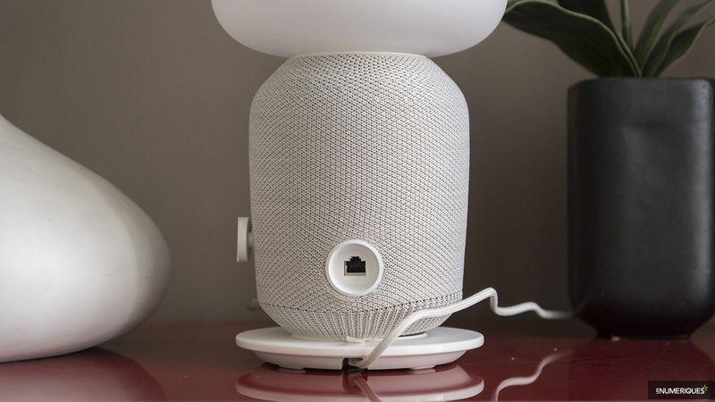 Test Sonos Ikea Symfonisk Lampe de table : notre avis