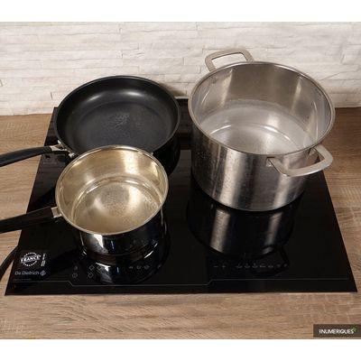 Plaque de cuisson De Dietrich DTI1116B : elle chauffe plus vite que son ombre