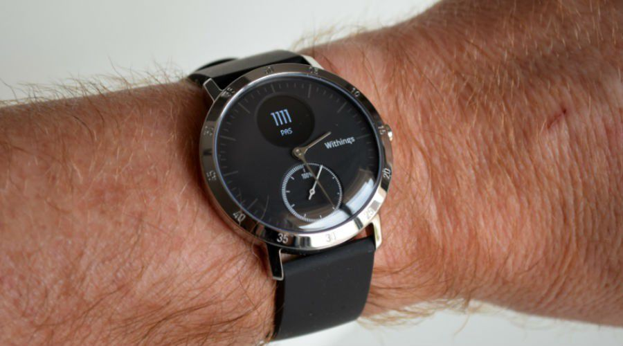 Test withings steelHR d