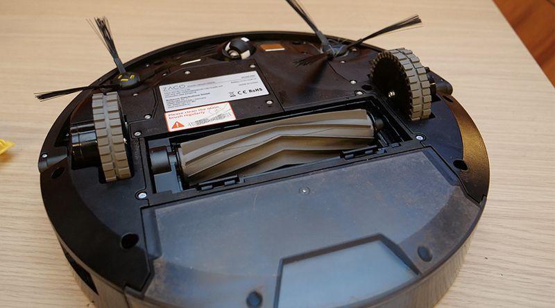 Test Zaco A9s : un aspirateur robot à lingette vibrante