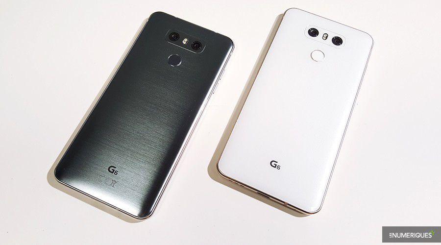 2 test lg g6 couleurs