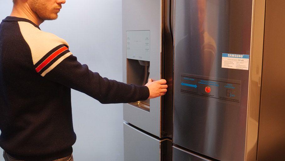 Réfrigérateur américain Samsung RF56J9040SR : des zones de froid modulables
