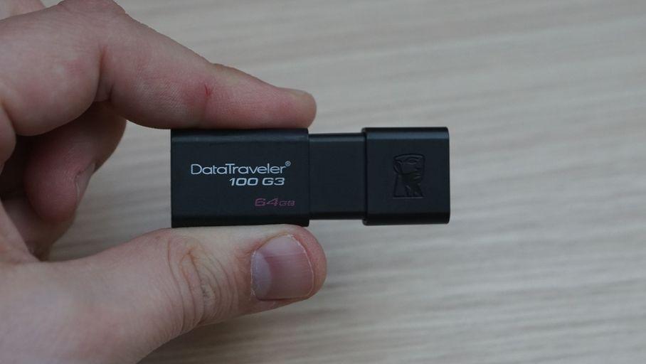 Clé USB Kingston DataTraveler 100 G3 64 Go : bien plus rapide en lecture qu'en écriture