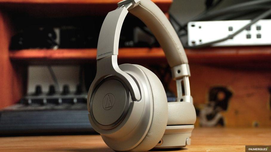 Test : Casque Bluetooth Audio Technica ATH-SR50BT : une restitution sonore naturelle