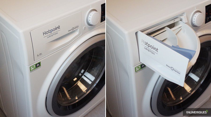 hotpoint ariston rpg 945 js test complet lave linge les num riques. Black Bedroom Furniture Sets. Home Design Ideas