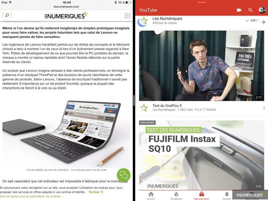 Apple iPad Pro 10.5 pouces   test, prix et fiche technique ... a9af5d490011
