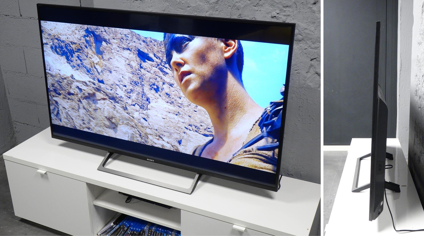 sony kd 55xe7005 test prix et fiche technique t l viseur les num riques. Black Bedroom Furniture Sets. Home Design Ideas