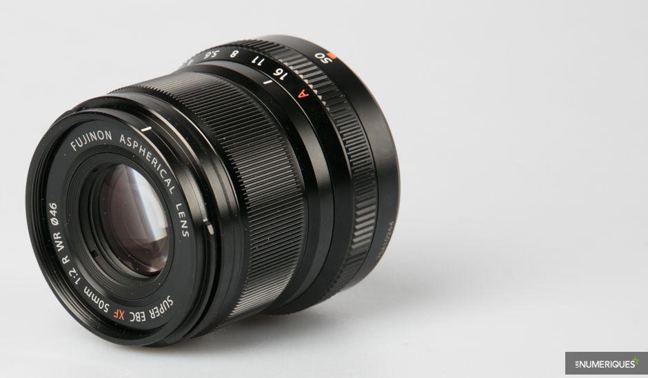 Fujifilm Fujinon XF 50 mm f/2 R WR : produit 1