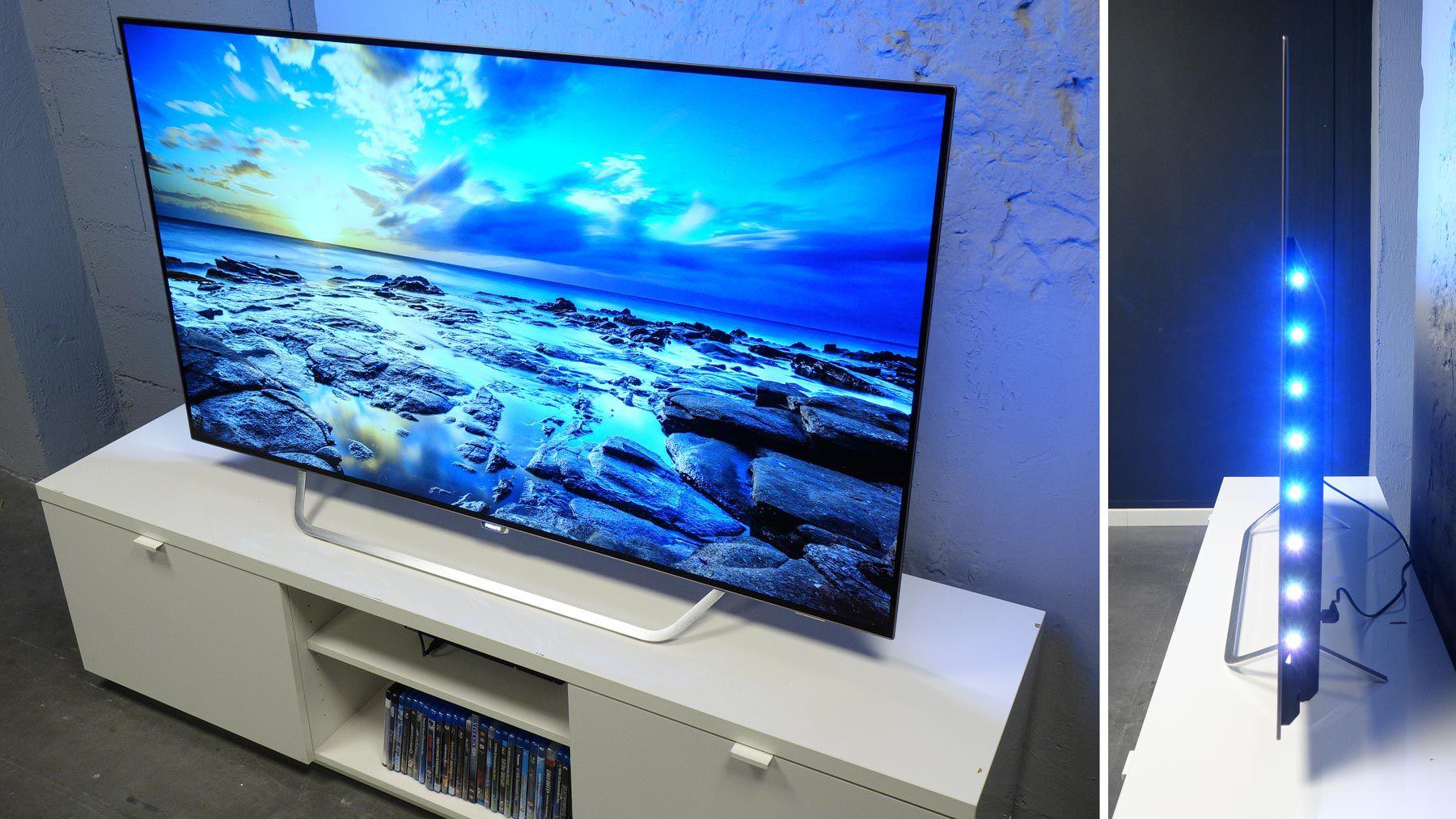 philips 55pos9002f test prix et fiche technique. Black Bedroom Furniture Sets. Home Design Ideas