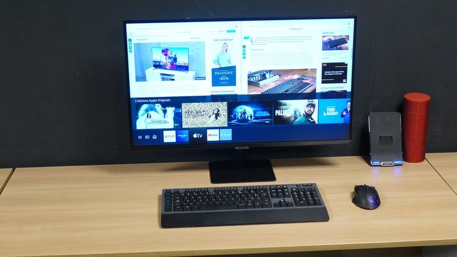 Test Samsung Smart Monitor M7 32