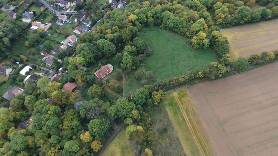 Test du Drone Parrot Bebop 2 Power, exemple d'image extraite d'une vidéo en vol