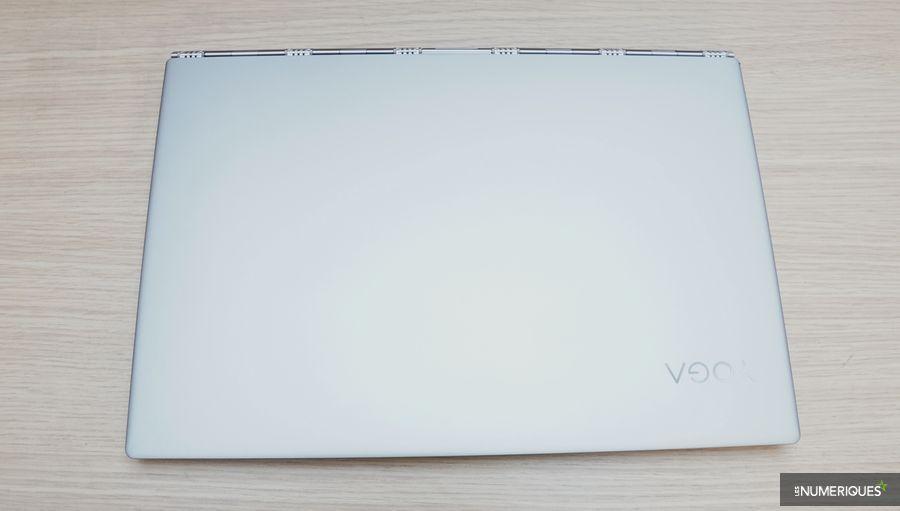 Test PC ultraportable Lenovo Yoga 920, fermé