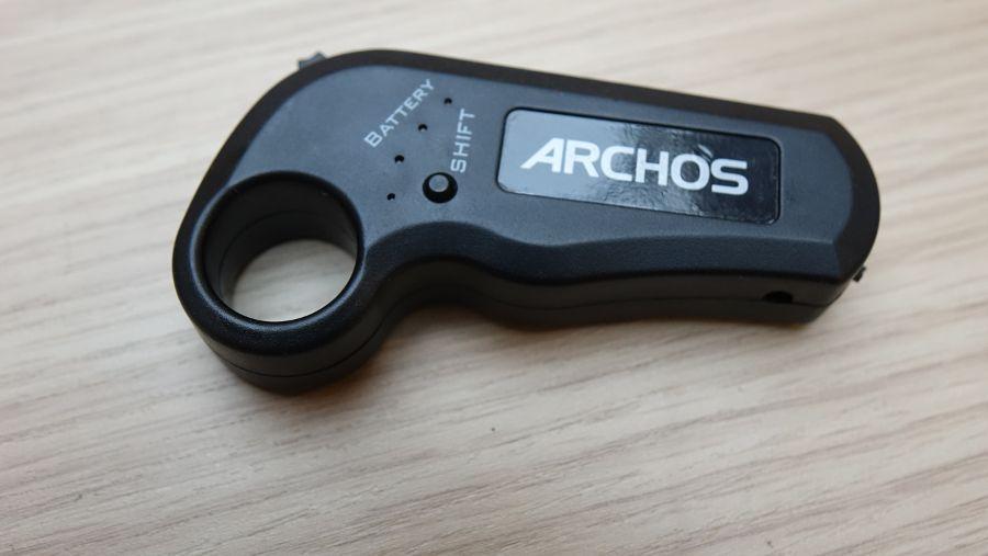 Test du skate électrique Archos SK8, télécommande