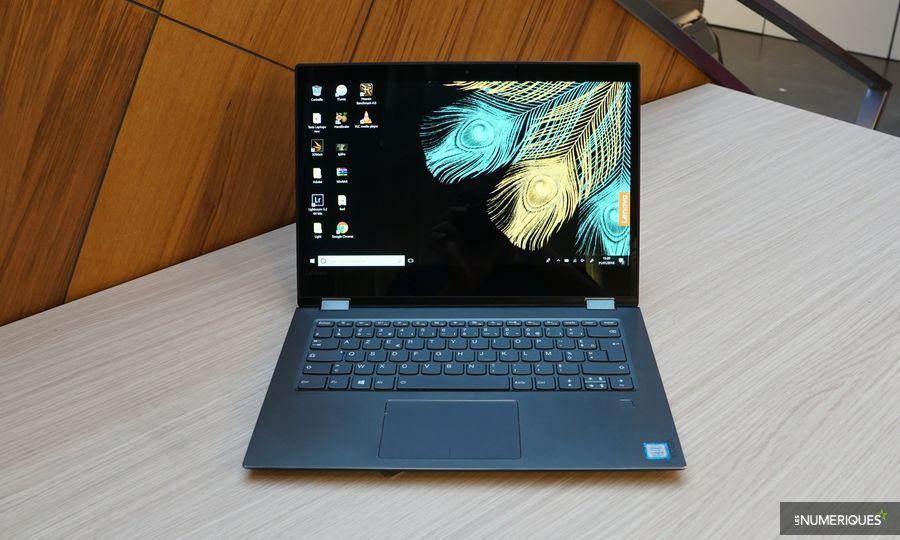 Test du Lenovo Yoga 520, ouvert en mode PC