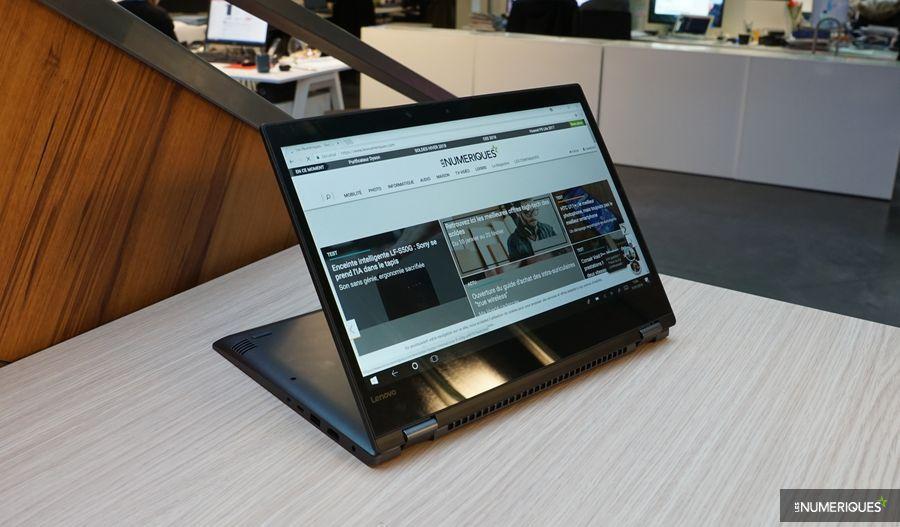 Test du Lenovo Yoga 520, ouvert en mode tablette