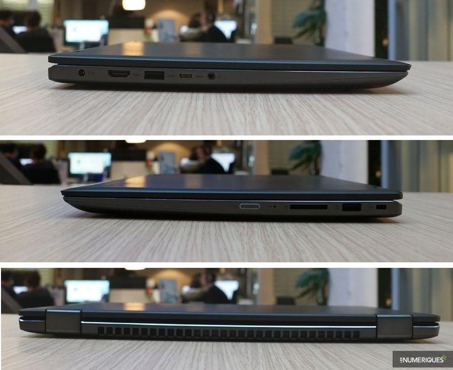 Test du Lenovo Yoga 520, connectique