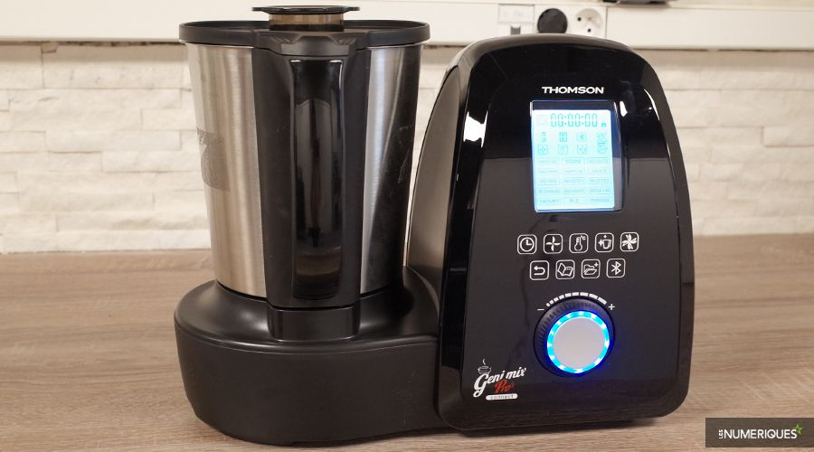 Thomson geni mix pro connect test complet robot - Thermomix ne pese plus ...