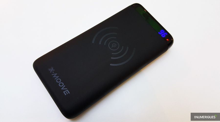 Batterie externe Batterie X-Moove Powergo Contact de face