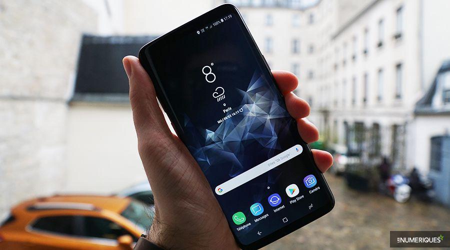Le S9+ en main