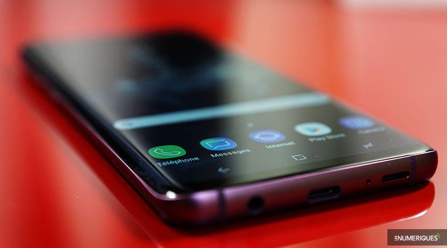 Tranche du Galaxy S9 Plus