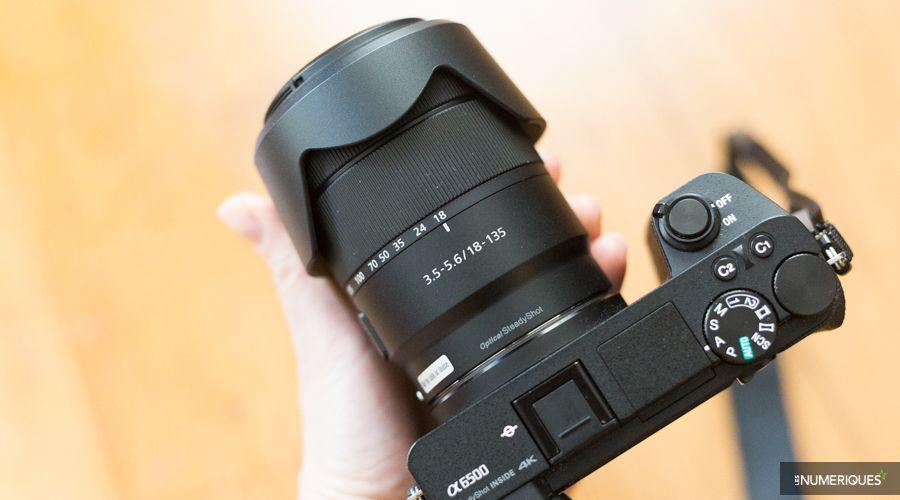Test du zoom Sony E 18-135mm f/3,5-5,6 OSS monté sur un APN Sony Alpha 6500 (A6500)