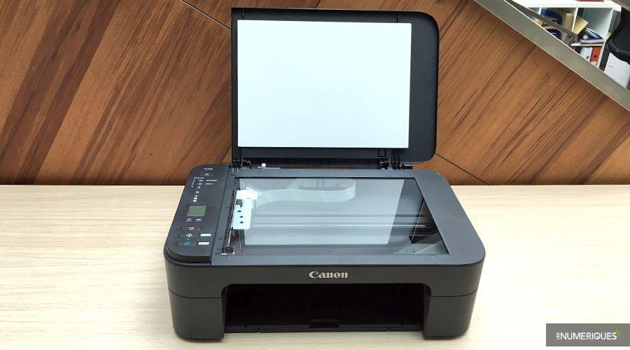 Test de l'imprimante couleur multifonction jet d'encre Canon Pixma TS3150, scanner