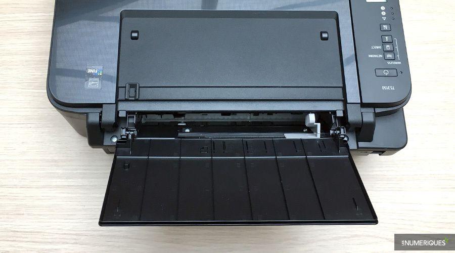 Test de l'imprimante couleur multifonction jet d'encre Canon Pixma TS3150, chargeur arrière