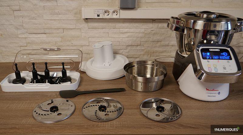 robot cuiseur moulinex connecté i-companion xl hf906b10 darty