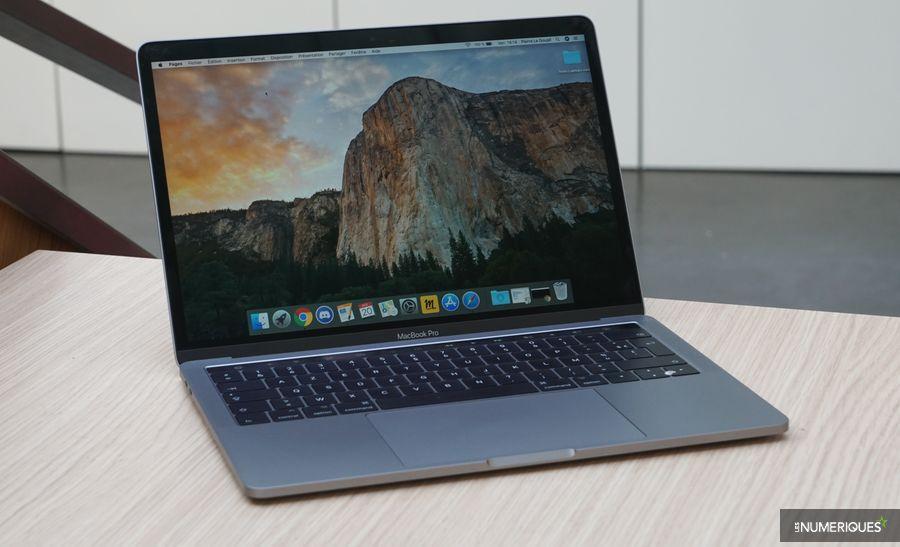 MacBook Pro 13 pouces 2017 3,1 GHz, vue d'ensemble