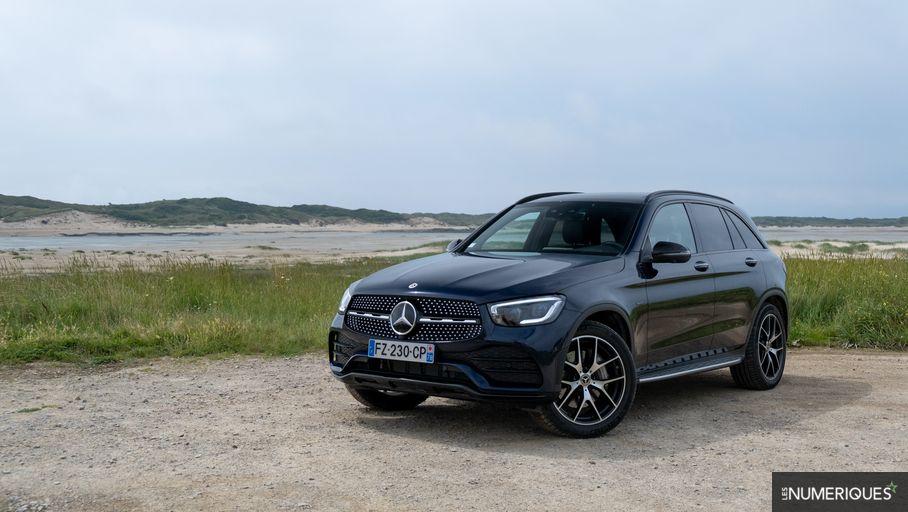 Test Mercedes GLC 300 de AMG Line : l'hybride rechargeable diesel, une bonne idée ?