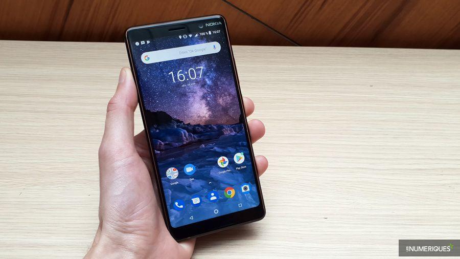 Nokia 7 Plus   test, prix et fiche technique - Smartphone - Les ... 68c71cead47