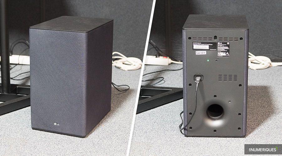 Barre de son LG SK10Y : un rendu Dolby Atmos toujours aussi
