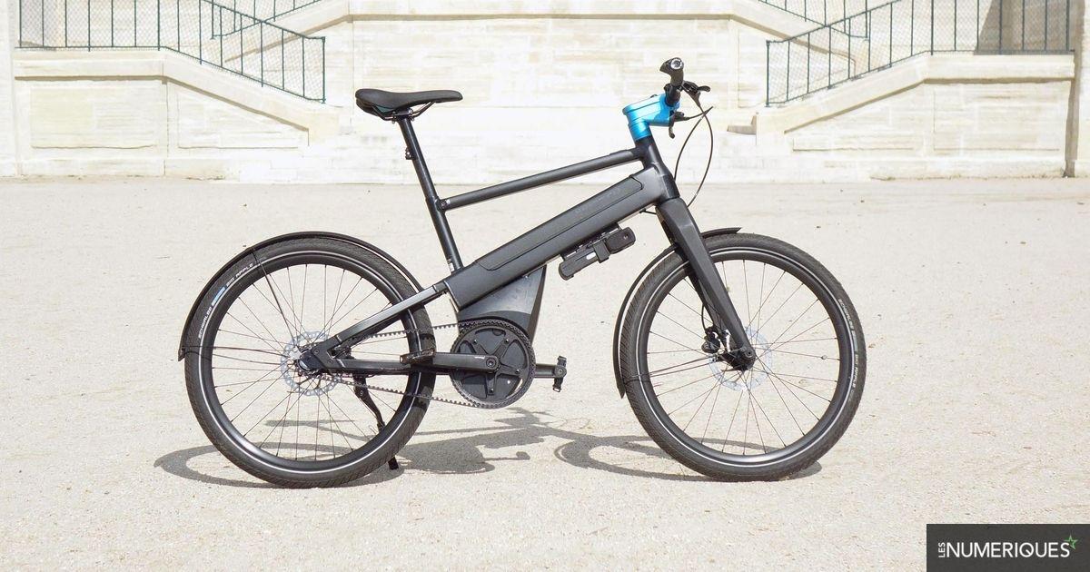 Test iWeech : un vélo électrique urbain, intelligent et pratique