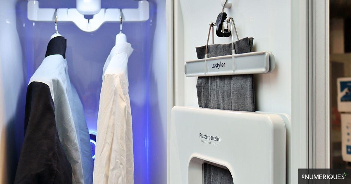 Test LG Styler : l'armoire qui veut remplacer le pressing