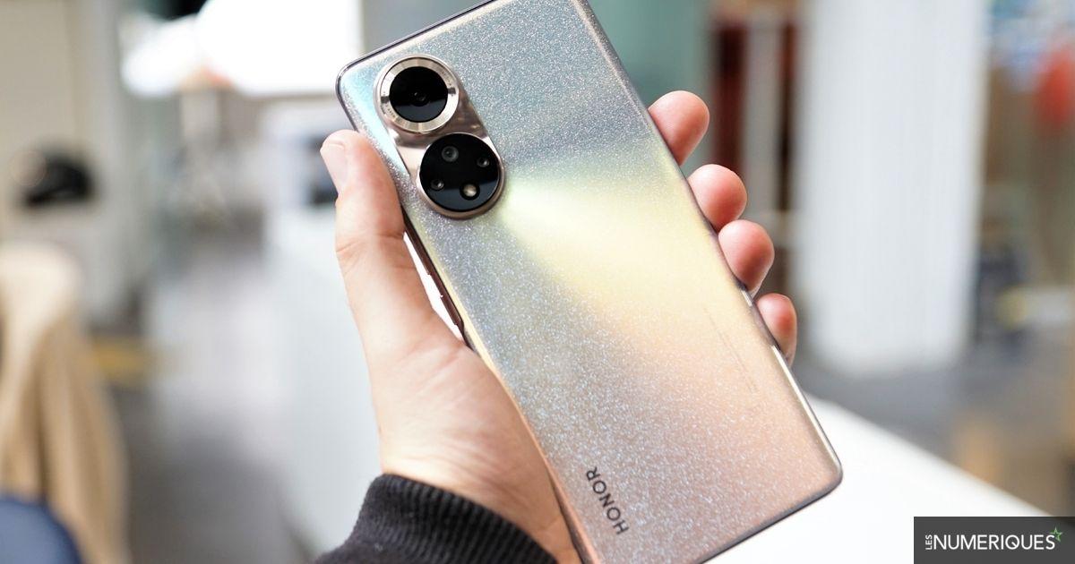 Test Honor 50 : un smartphone séduisant... et doté des services de Google !
