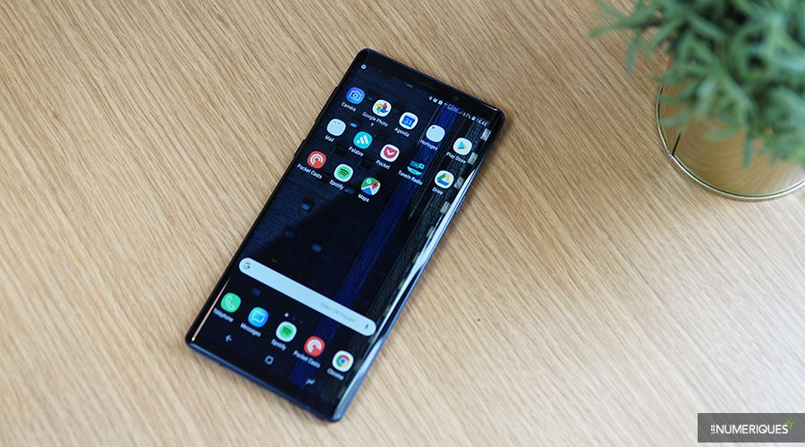 Galaxy note 9 face