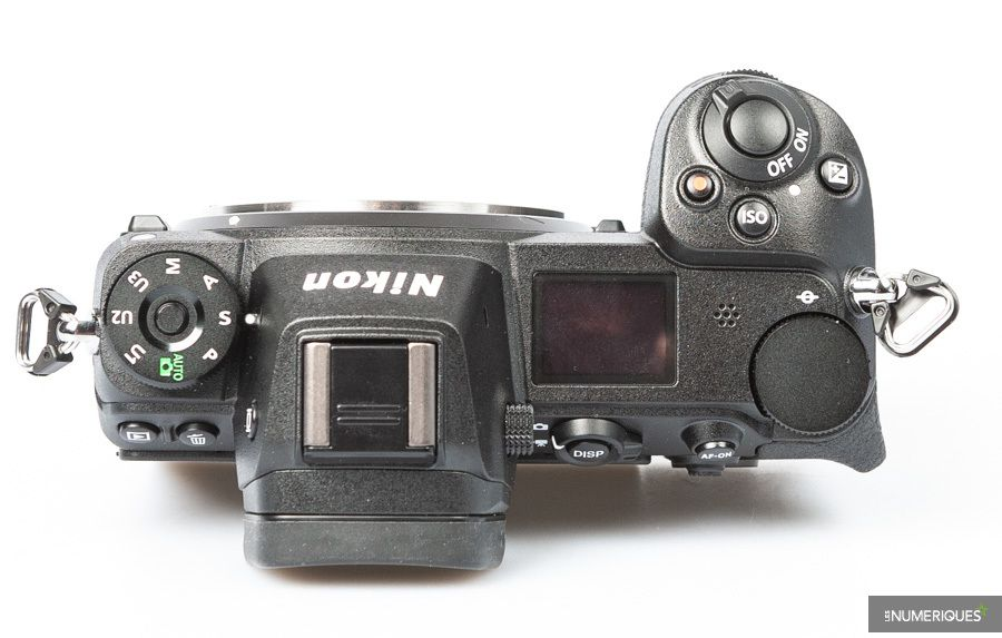 Nikon Z7 ergonomie test