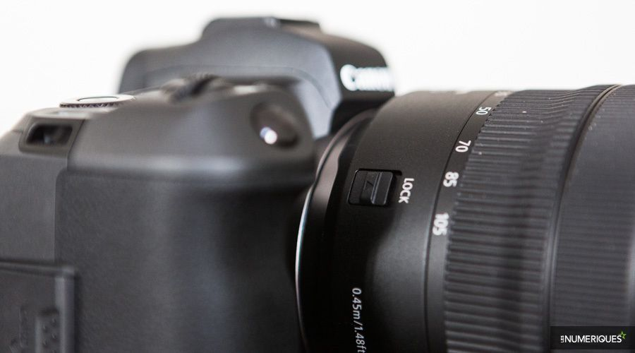 Test optique Canon RF 24-105 mm f/4L IS USM