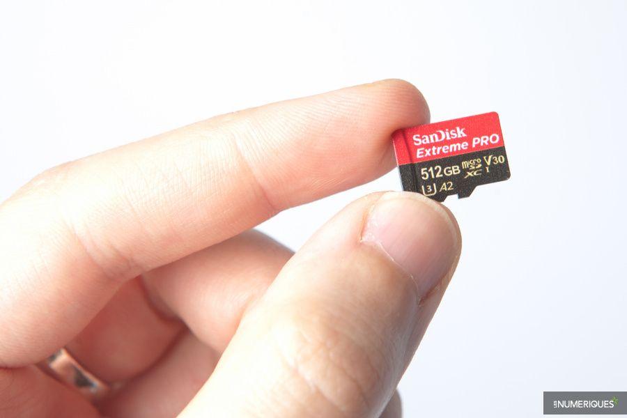 Carte Sd Transcend Cdiscount.Contrefacon Carte Microsd Sandisk Extreme Pro 512 Go Test