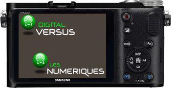 Samsung NX200 test review vue de dos ergonomie