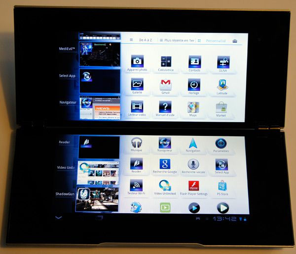 sony tablet p multi