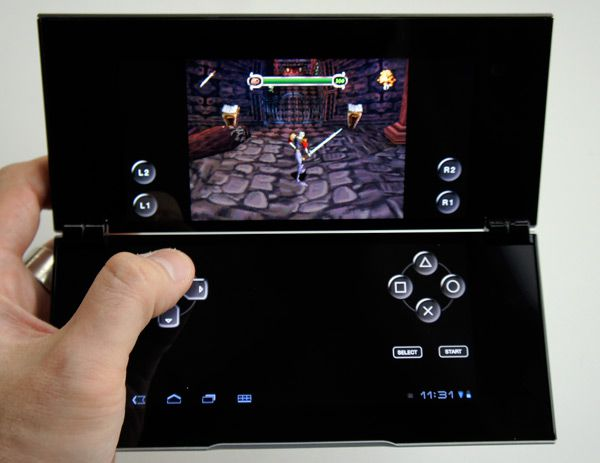 sony tablet p jeux playstation