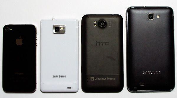Galaxy note smartphones